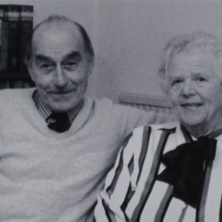 Louis and Greta on the occasion of their Golden Wedding Anniversary 9th March 1990 (Taken by local newspaper for Wedding Anniversary Report): Image 6
