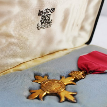 Rhys Davies was awarded the OBE for Services to Literature: Image 4